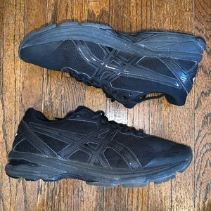 ASICS GT 1000 T6A9N (D) Blackout Women's Size 9D